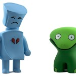 Broken Heart Robot & Kricky The Alien Frog